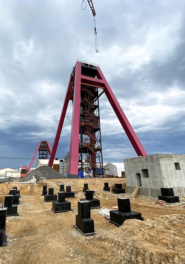 Нежинский ГОК на базе Старобинского месторождения калийных солей - 1